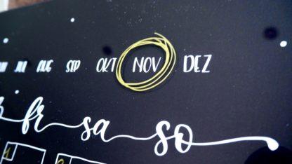 Kalender schwarz, Ländle Liebelei