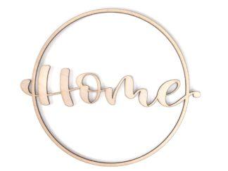 "Holzschild ""Home"""
