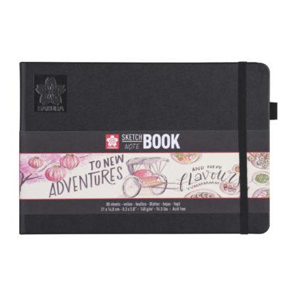 SAKURA Sketch Note Book, creme, 21x14,8 cm