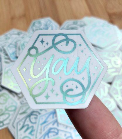Sticker Yay