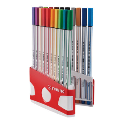Stabilo Pen 68 Brush, 20er Set