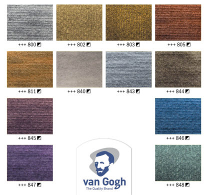 Van Gogh Watercolor Pocketbox 12 Pans Specialty Colors