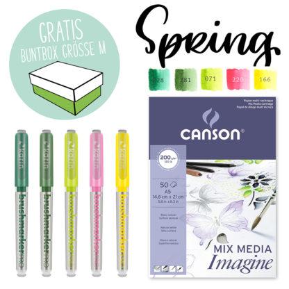 Kreativ-Set Karin Marker Farbpalette Spring