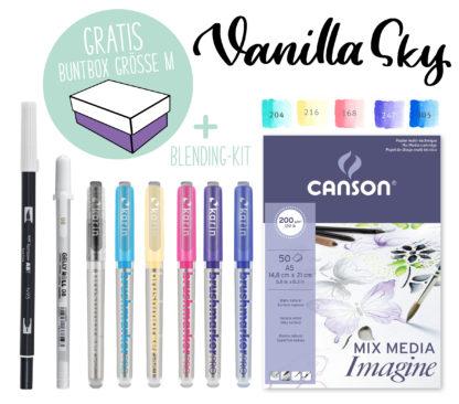 Kreativ-Set Karin Marker Blending Farbpalette Vanilla Sky