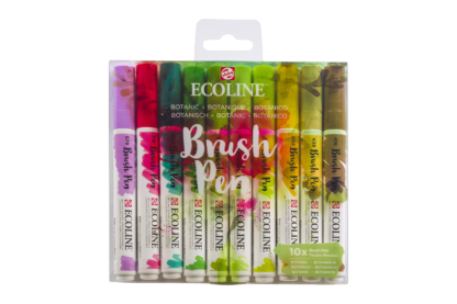 Talens Ecoline Brush Pen 10er-Set Botanical