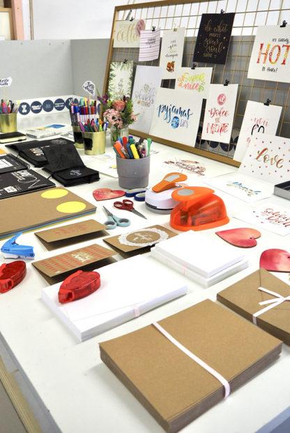 Handlettering Workshop im Druckwerk Lustenau