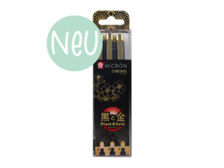 Sakura Pigma Micron Fineliner Black&Gold Edtion 3er Set