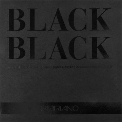 Fabriano BLACK BLACK 20x20cm