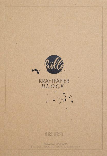Frau Hölle Kraftpapier Block